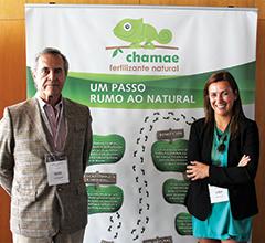 António Sevinate Pinto e Filipa Setas da Lusosem, patrocinadora do AgroIN